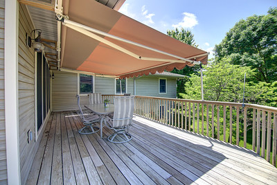 Awning Covered Deck