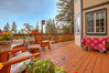 Enjoy Outdoor Entertaining on Newly Refinished and Trex Rails Lower Deck