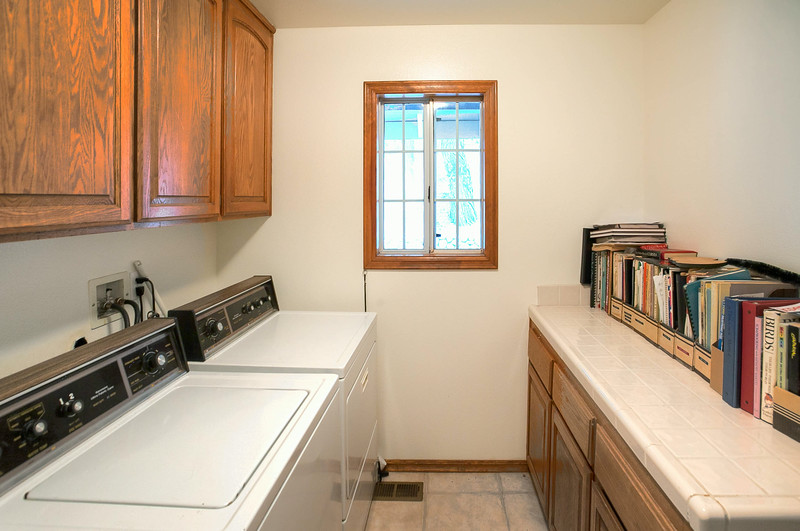 Attached Laundry/Mud Room Lower Level