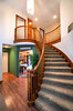 Entry Opens to Spectacular Spiral Staircase