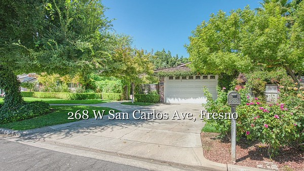 268 W San Carlos Ave, Fresno