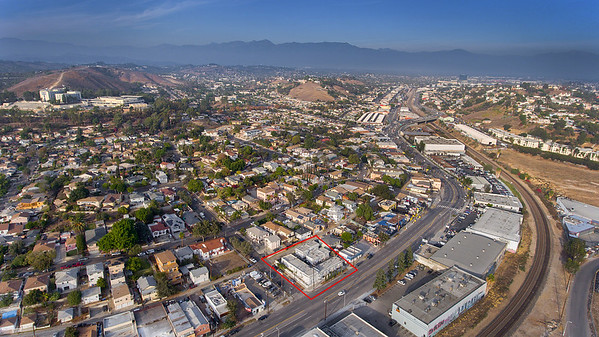4601 Valley Blvd Aerial Photography