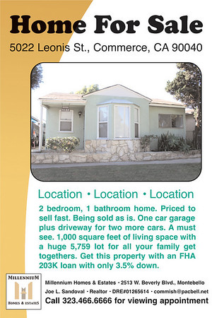 5022 LEONIS ST., COMMERCE, CA 90040