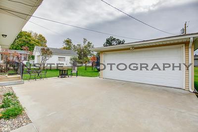 Garage & Patio Area