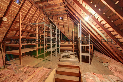Walk Up Attic