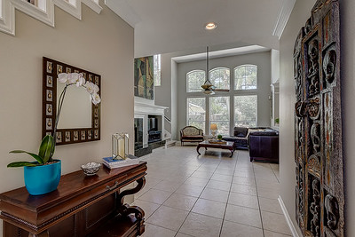 Entry to Family Room
