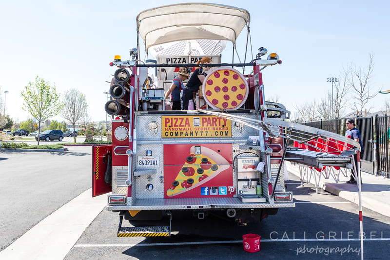 Spencer's Crossing Pizza Party