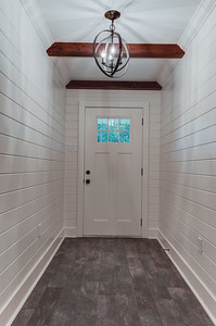 Front door and foyer.