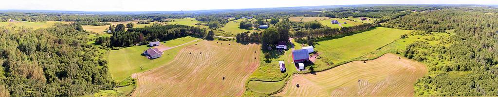 Drone Panorama - Farm