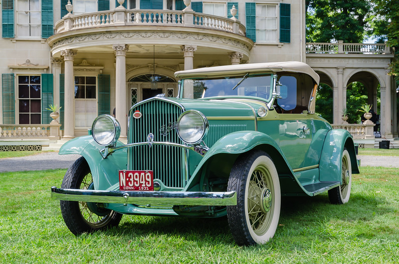Antique DeSoto Automobile at Montgomery Place Historic Estate.