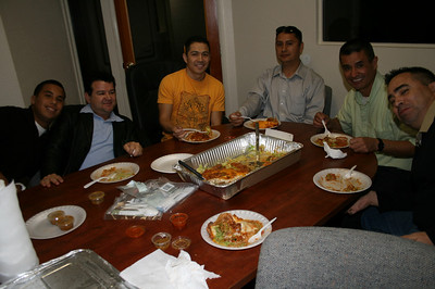 FIRST LUNCH AT NEW CVLo's HEADQUARTERS ~ 02.04.2011