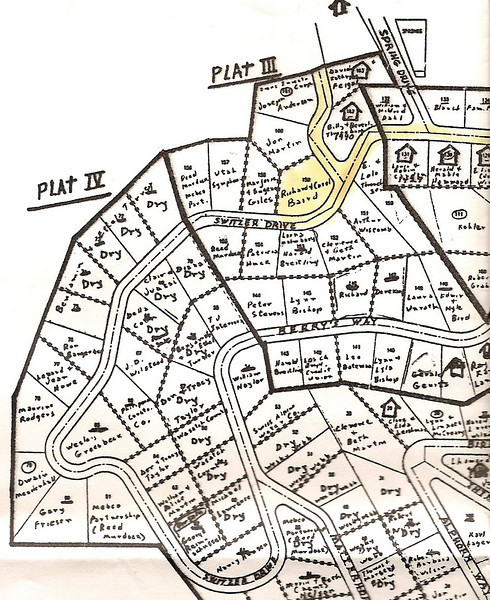 Upper plat map (from the 1960's?)