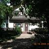 Fancy cabin before (west of) Lot 159.