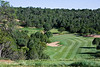 Fairway and green, hole 7, Rainmakers Golf & Recreation Community, Alto, New Mexico (Ruidoso)