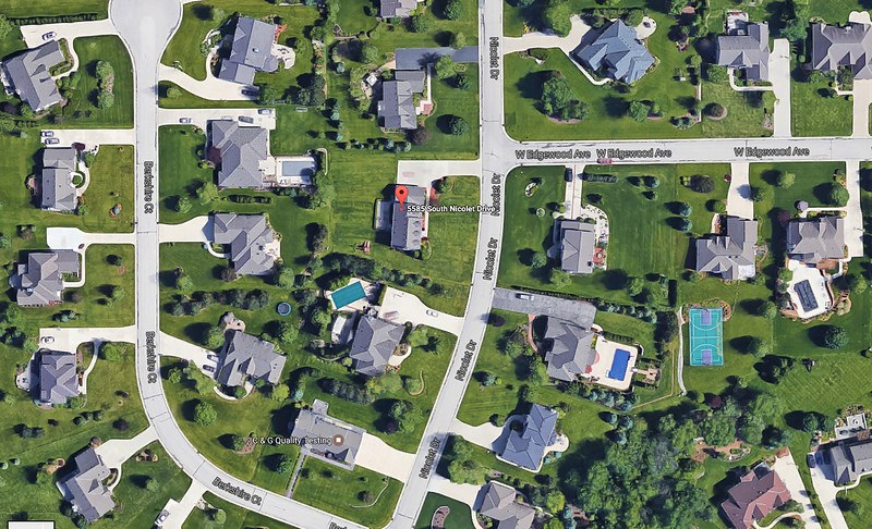 Taken from Google Earth so you have a higher view.
