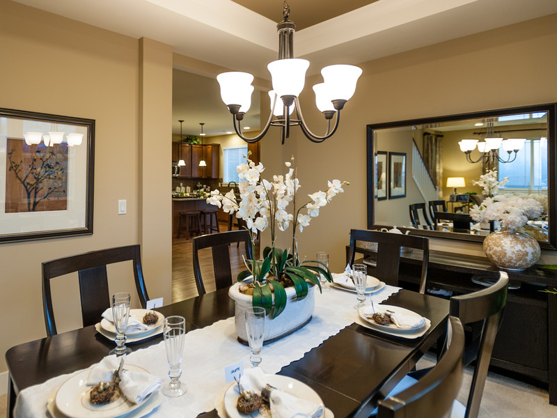 Formal Dining Room<br /> Ambient, manual focus. Trying to show dining room in relation to the kitchen.