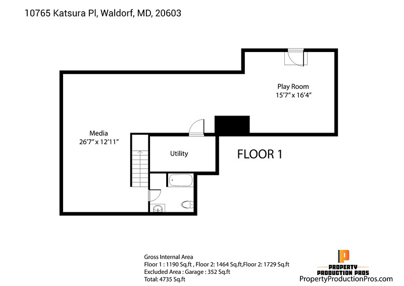 10765 Katsura Pl, Waldorf, MD, 20603 2D 1