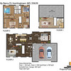 1210 Holly Berry Ct, Huntingtown, MD, 20639 2D