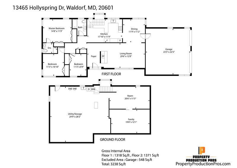 13465 Hollyspring Dr, Waldorf, MD, 20601
