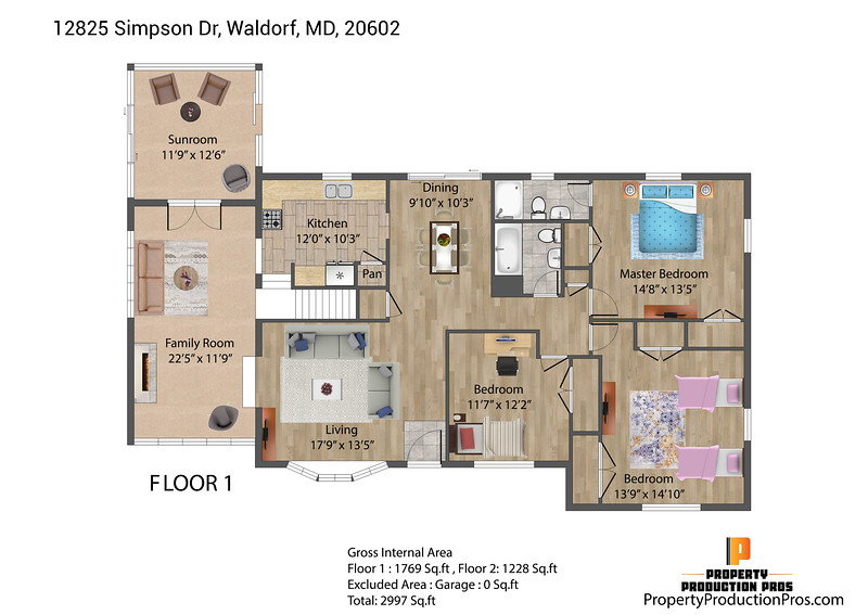 12825 Simpson Dr, Waldorf, MD, 20602 2D 1