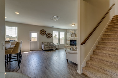 Living Room & Staircase
