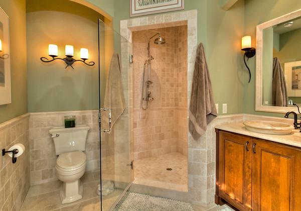 Master bath extra large shower