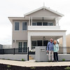 John and Gloria - Proud home owners at their new residence in Osprey Waters. A fantastic location with park and gardens across the road and only a few hundred meters to the water's edge. Even the occasional Kangaroo hopping by showing just another aspect of the vast wildlife in the area.