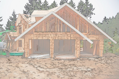 Exterior Garage View - Rendering-2