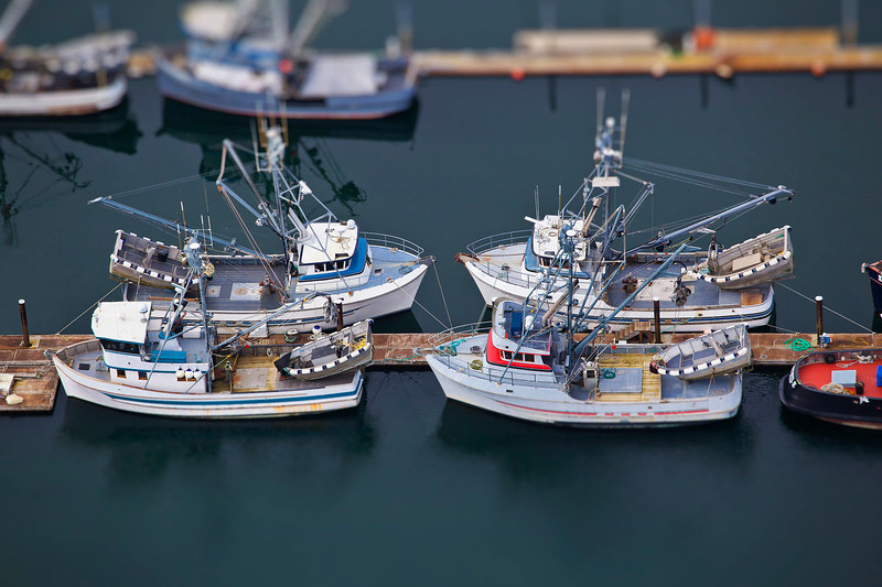 Gig Harbor aerial toy boats
