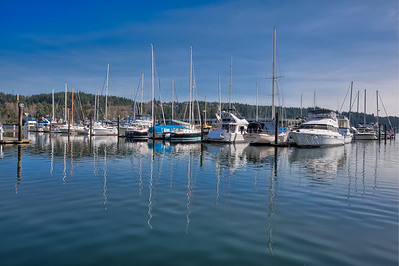 Gig Harbor Marina Reflections