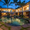 kailua manor pool and sideyard