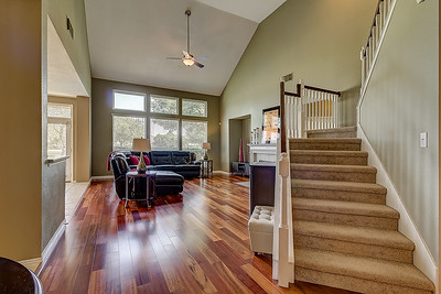 Living Room / Staircase