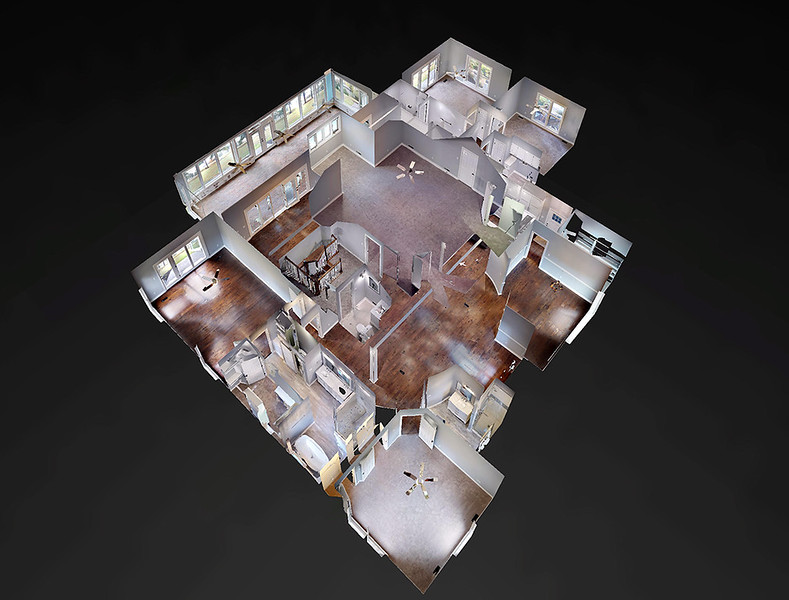 Dollhouse View from Matterport 3D tours Call me for more info