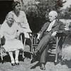 Minny Johnson (Hazel's parents), Hazel, and Walter Johnson