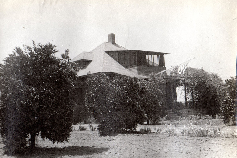 Before it had glass, the sleeping porch was screened in