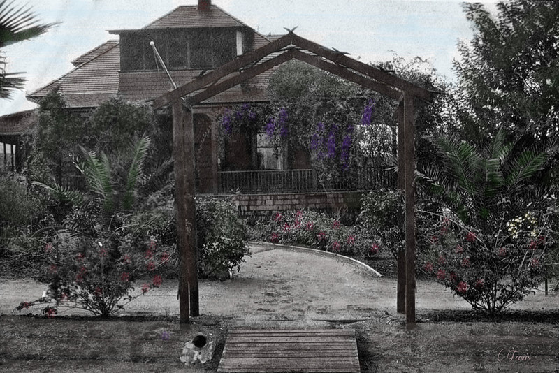 I colorized this photo.