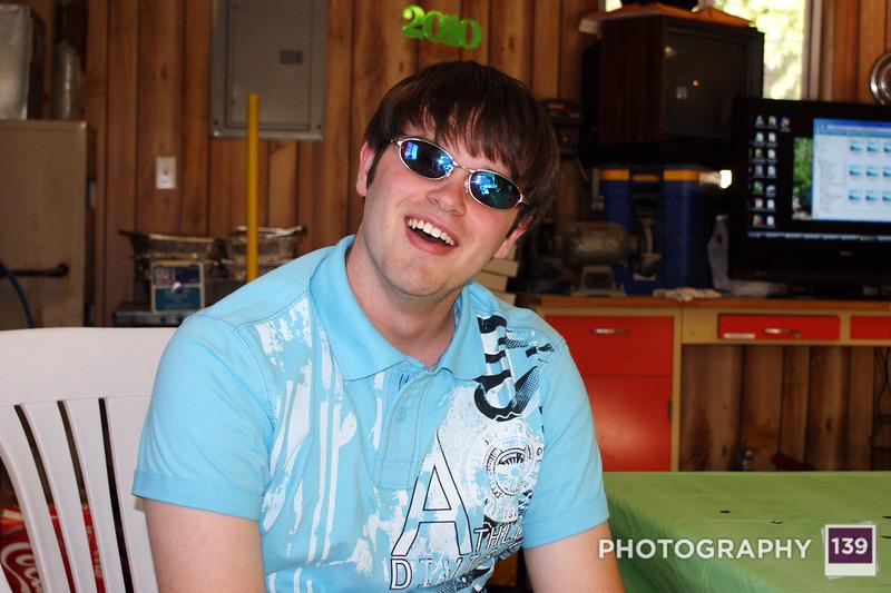Johnathan's Graduation Open House - 2010