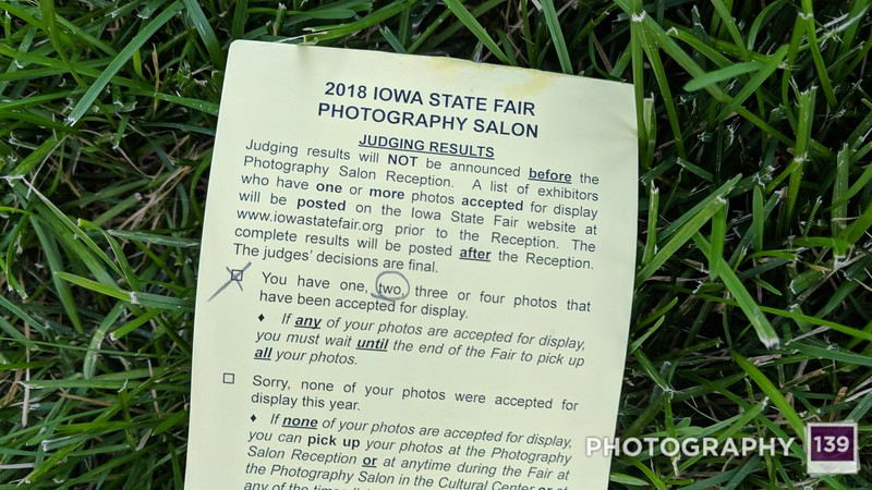 Results for 2018 Iowa State Fair Photography Salon
