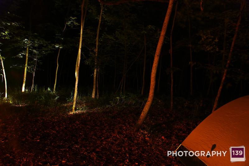 Shannon Birthday Camping - 2010