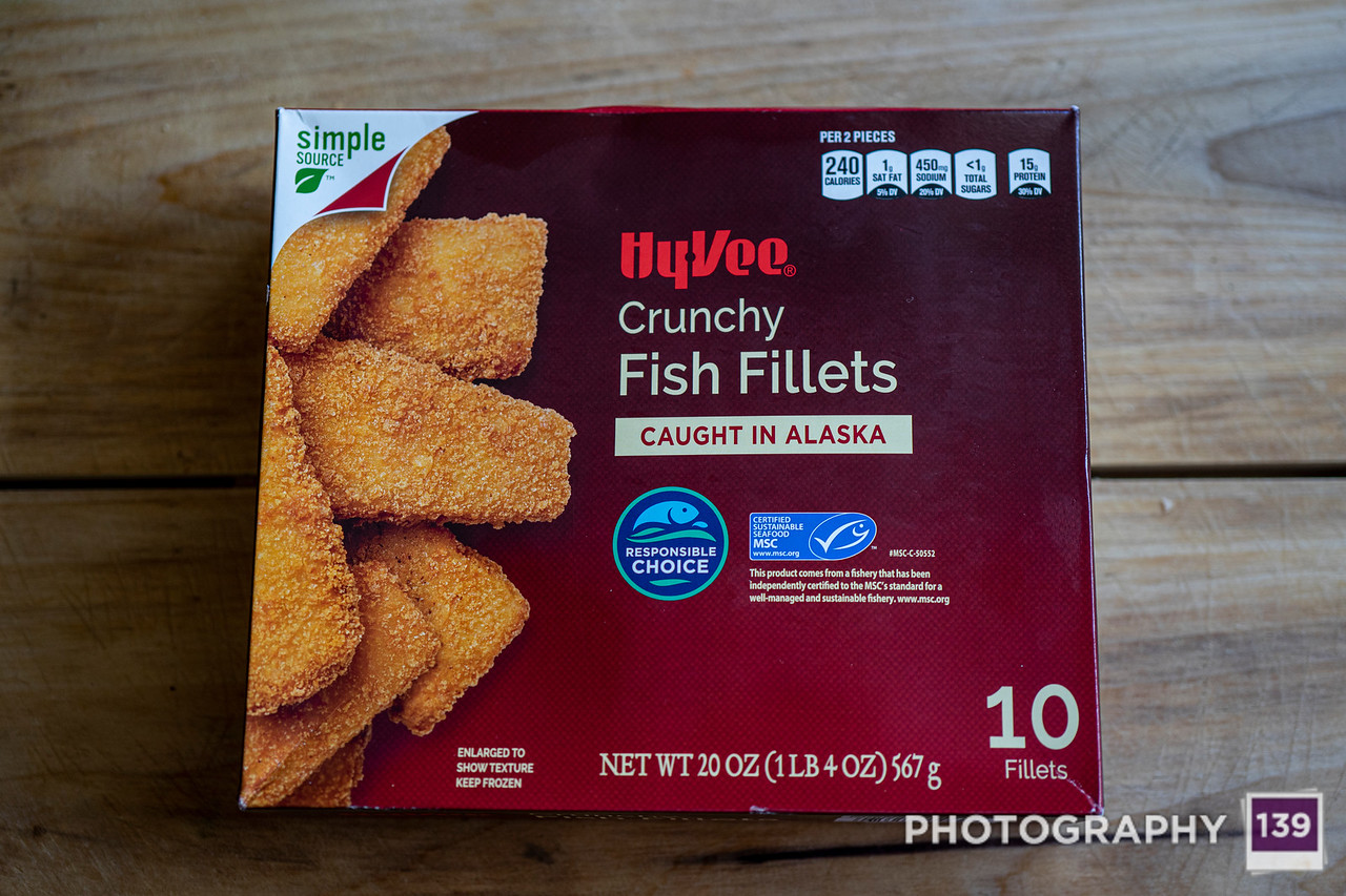 Hy-Vee Crunchy Fish Fillets
