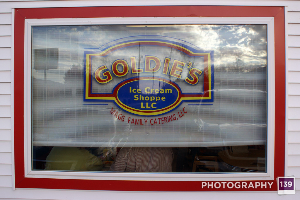 Tenderloining at Goldie's Ice Cream Shoppe