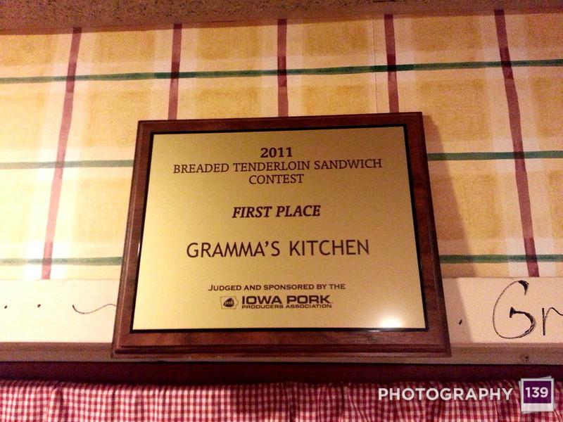Tenderloining at Gramma's Kitchen