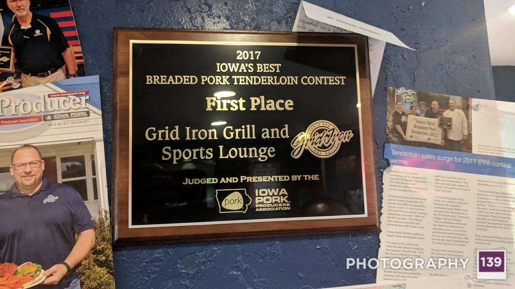 Tenderloining at Grid Iron Grill