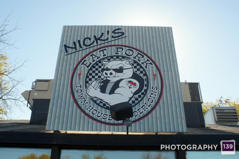Tenderloining at Nick's