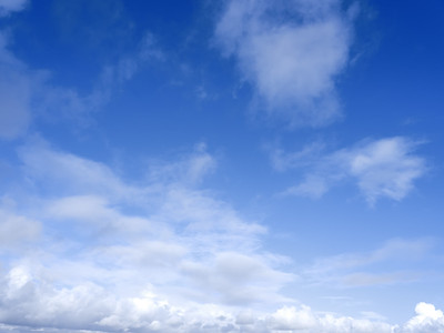 Catalogue Sky #8 Polarised Blue with Cloud