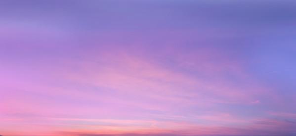Catalogue Sky #7 Foggy Purple