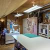 Third Floor Craft Room (Full Ceder Closet in rear)