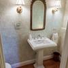 Powder Room (Half Bath) Between Basement and First Floor