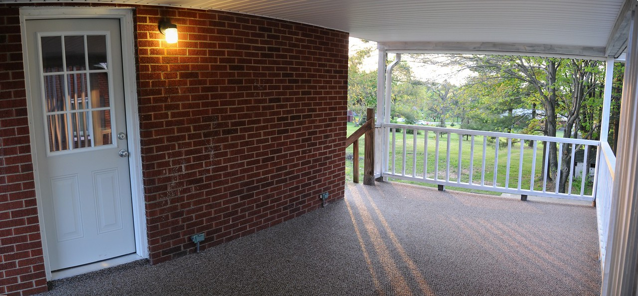 Images from 177 Hopwood Fairchance Rd.  Newly renovated well built home for sale. Large lot, brick siding, 2 bedroom, 2 full bathrooms, tile everywhere, hardwood floors, carpet, full finished basement, garage, attention to detail, great neighborhood, Laurel Highlands School District.