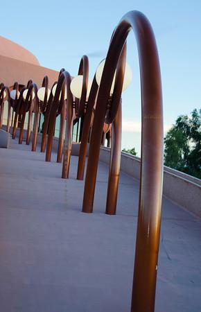 ASU walkway lights poles 3500